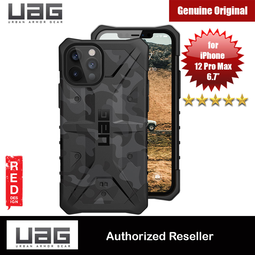 Picture of UAG Urban Armor Gear Protection Case Pathfinder SE Series for iPhone 12 Pro Max 6.7 (Black Midnight Camo) Apple iPhone 12 Pro Max 6.7- Apple iPhone 12 Pro Max 6.7 Cases, Apple iPhone 12 Pro Max 6.7 Covers, iPad Cases and a wide selection of Apple iPhone 12 Pro Max 6.7 Accessories in Malaysia, Sabah, Sarawak and Singapore