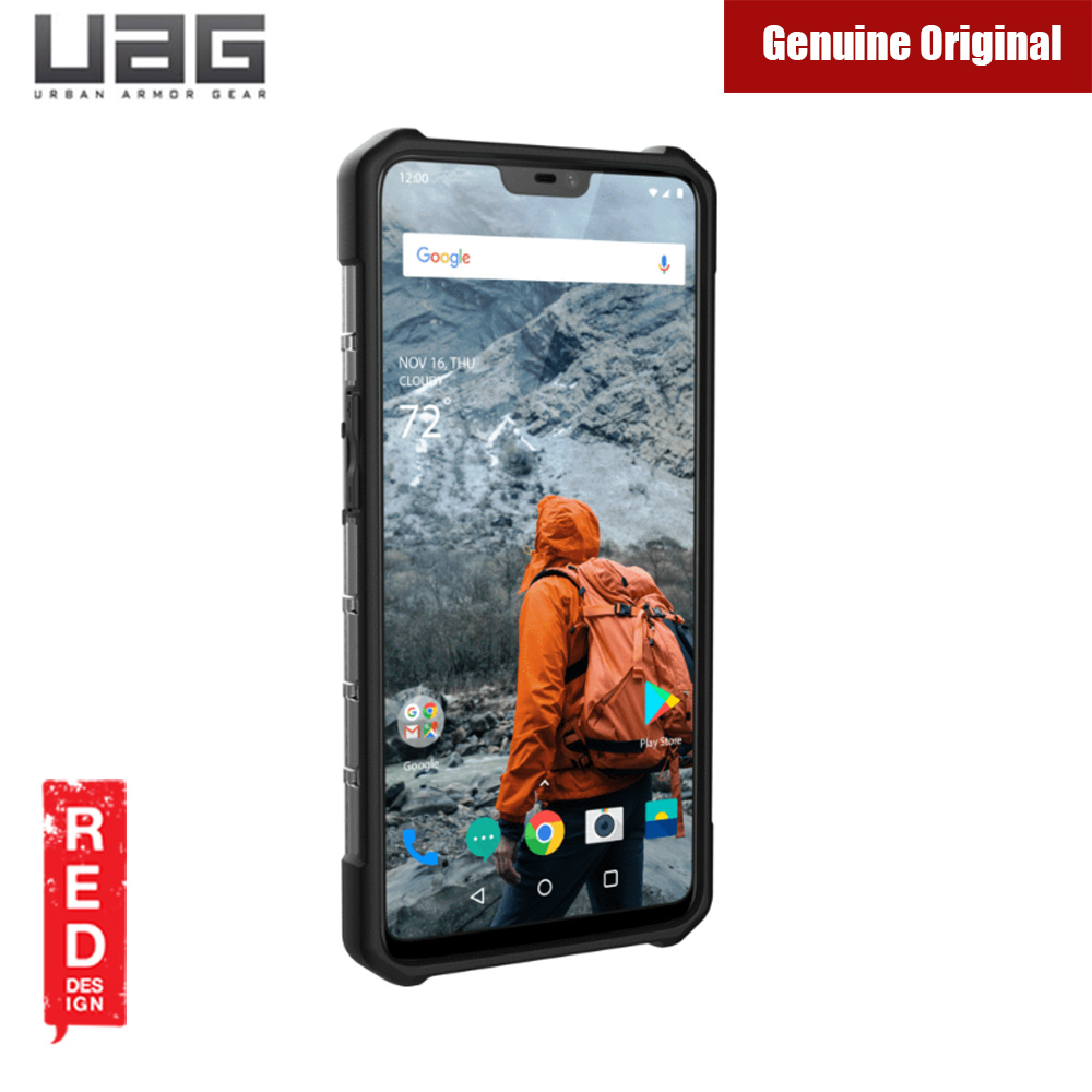 new arrivals 5635c 9000a UAG Plasma Series Protection Case for ONEPLUS 6 (Ash Grey)