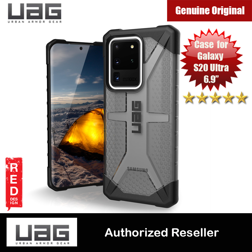 Picture of UAG Plasma Series Drop Protection Case for Samsung Galaxy S20 Ultra 6.9 inches (Ash Grey) Samsung Galaxy S20 Ultra 6.9- Samsung Galaxy S20 Ultra 6.9 Cases, Samsung Galaxy S20 Ultra 6.9 Covers, iPad Cases and a wide selection of Samsung Galaxy S20 Ultra 6.9 Accessories in Malaysia, Sabah, Sarawak and Singapore
