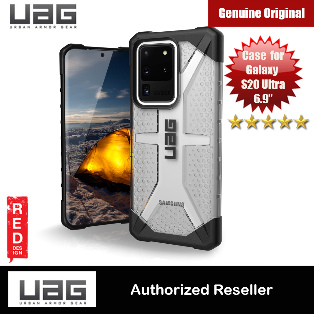 Picture of UAG Plasma Series Drop Protection Case for Samsung Galaxy S20 Ultra 6.9 inches (Ice Clear) Samsung Galaxy S20 Ultra 6.9- Samsung Galaxy S20 Ultra 6.9 Cases, Samsung Galaxy S20 Ultra 6.9 Covers, iPad Cases and a wide selection of Samsung Galaxy S20 Ultra 6.9 Accessories in Malaysia, Sabah, Sarawak and Singapore