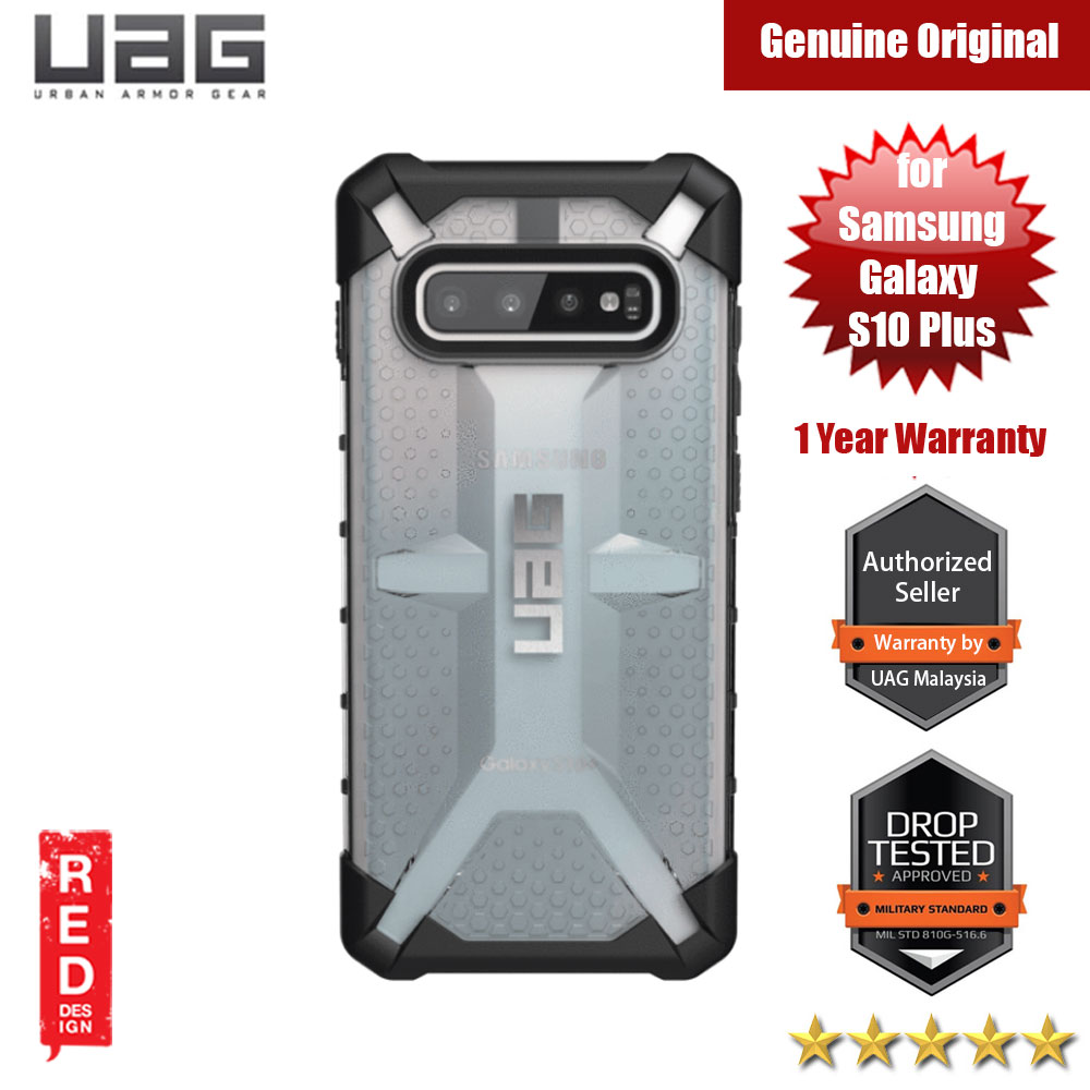 Picture of UAG Plasma Series for Samsung Galaxy S10 Plus (Ice Clear) Samsung Galaxy S10 Plus- Samsung Galaxy S10 Plus Cases, Samsung Galaxy S10 Plus Covers, iPad Cases and a wide selection of Samsung Galaxy S10 Plus Accessories in Malaysia, Sabah, Sarawak and Singapore