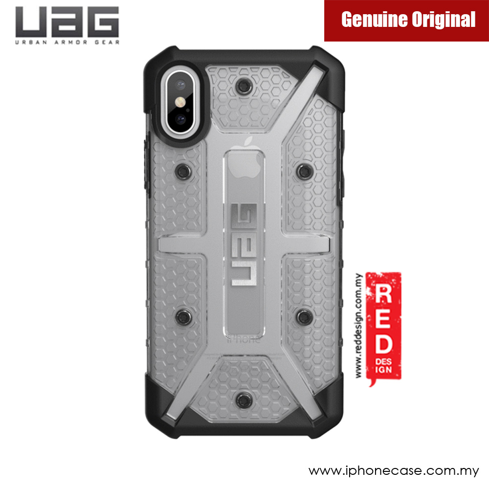 Picture of Apple iPhone X Case | UAG Plasma Series Case for Apple iPhone X (Ice Clear)