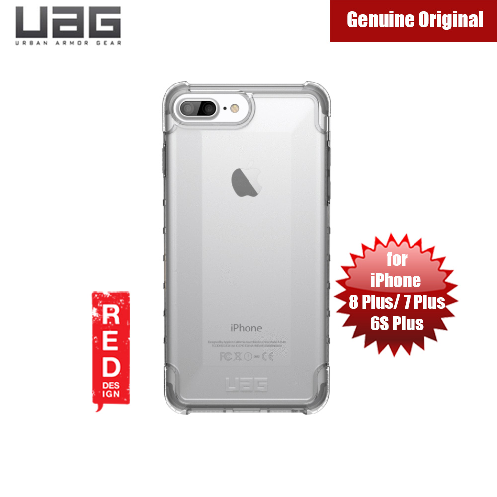 Picture of Apple iPhone 8 Plus Case | UAG Plyo Series Case for Apple iPhone 8 Plus 7 Plus 6S Plus (Ice Clear)