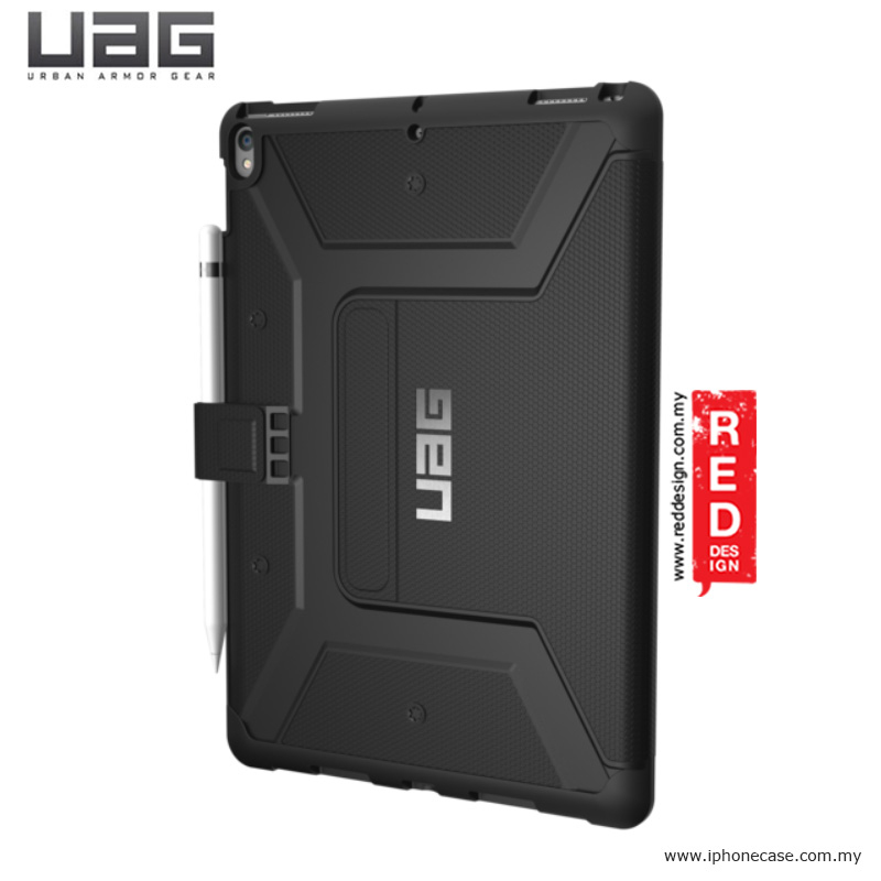 Picture of Apple iPad Pro 10.5 2017 Case | UAG Metropolis Protection Case for Apple iPad Pro 10.5 2017 2018 (Black)