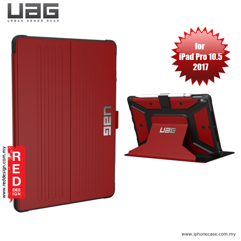 Picture of UAG Metropolis Protection Case for Apple iPad Pro 10.5 2017 - Magma Red Malaysia Singapore: Apple iPad Pro 10.5 2017- Apple iPad Pro 10.5 2017 Cases, Apple iPad Pro 10.5 2017 Covers, iPad Cases and a wide selection of Apple iPad Pro 10.5 2017 Accessories in Malaysia, Sabah, Sarawak and Singapore
