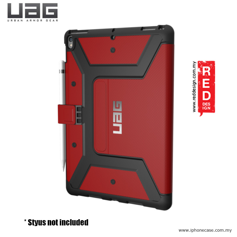 Picture of Apple iPad Pro 10.5 2017 Case | UAG Metropolis Protection Case for Apple iPad Pro 10.5 2017 - Magma Red