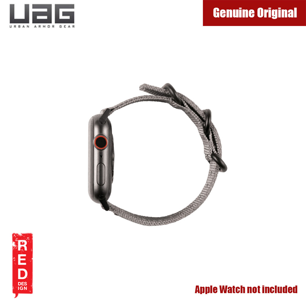 Picture of Apple Watch 42mm  | UAG Rugged Nato Watch Strap for Apple Watch 42mm 44mm (Grey)