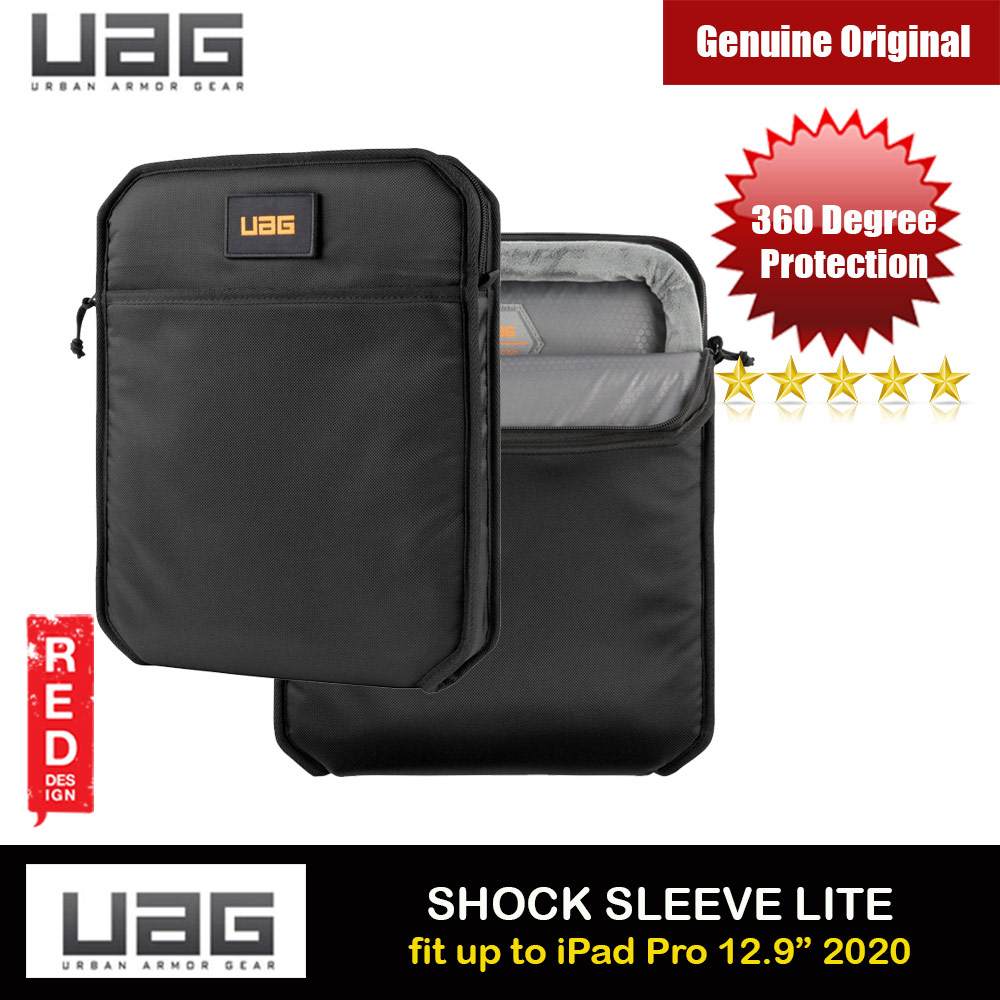 Picture of UAG SHOCK SLEEVE LITE Tough 360 Degree Protection Slim and Lightweight Sleeve for iPad Pro 12.9 A2229, A2069, A2232, A2233 (Black) Apple iPad Pro 12.9 4nd gen 2020- Apple iPad Pro 12.9 4nd gen 2020 Cases, Apple iPad Pro 12.9 4nd gen 2020 Covers, iPad Cases and a wide selection of Apple iPad Pro 12.9 4nd gen 2020 Accessories in Malaysia, Sabah, Sarawak and Singapore
