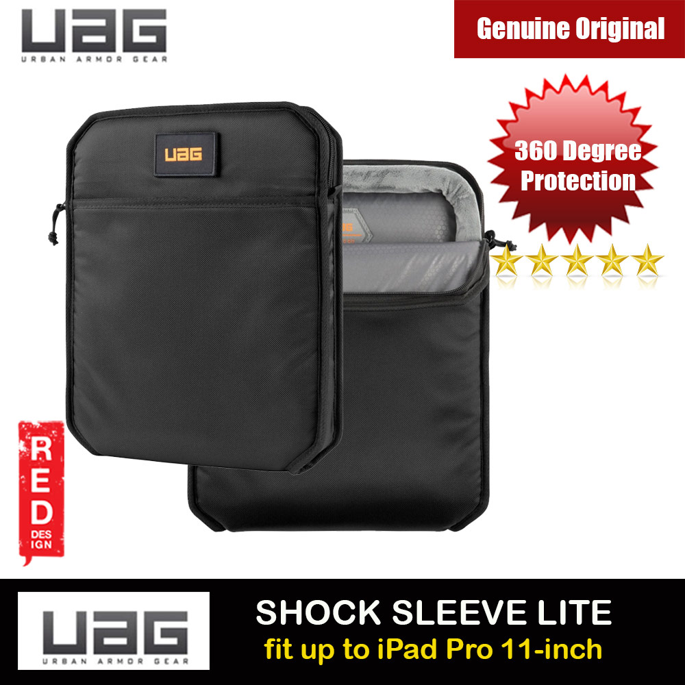 Picture of UAG SHOCK SLEEVE LITE Tough 360 Degree Protection Slim and Lightweight Sleeve for iPad Pro 11 A2228 A2068 A2230 A2228 A2068 A2230 A2231 (Black) Apple iPad Pro 11 2nd gen 2020- Apple iPad Pro 11 2nd gen 2020 Cases, Apple iPad Pro 11 2nd gen 2020 Covers, iPad Cases and a wide selection of Apple iPad Pro 11 2nd gen 2020 Accessories in Malaysia, Sabah, Sarawak and Singapore
