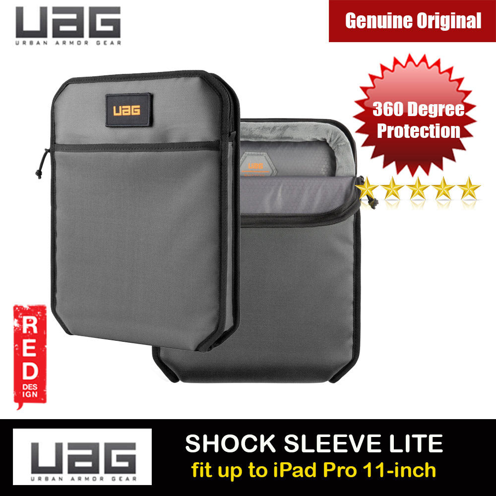Picture of UAG SHOCK SLEEVE LITE Tough 360 Degree Protection Slim and Lightweight Sleeve for iPad Pro 11 A2228 A2068 A2230 A2228 A2068 A2230 A2231 (Grey) Apple iPad Pro 11 2nd gen 2020- Apple iPad Pro 11 2nd gen 2020 Cases, Apple iPad Pro 11 2nd gen 2020 Covers, iPad Cases and a wide selection of Apple iPad Pro 11 2nd gen 2020 Accessories in Malaysia, Sabah, Sarawak and Singapore