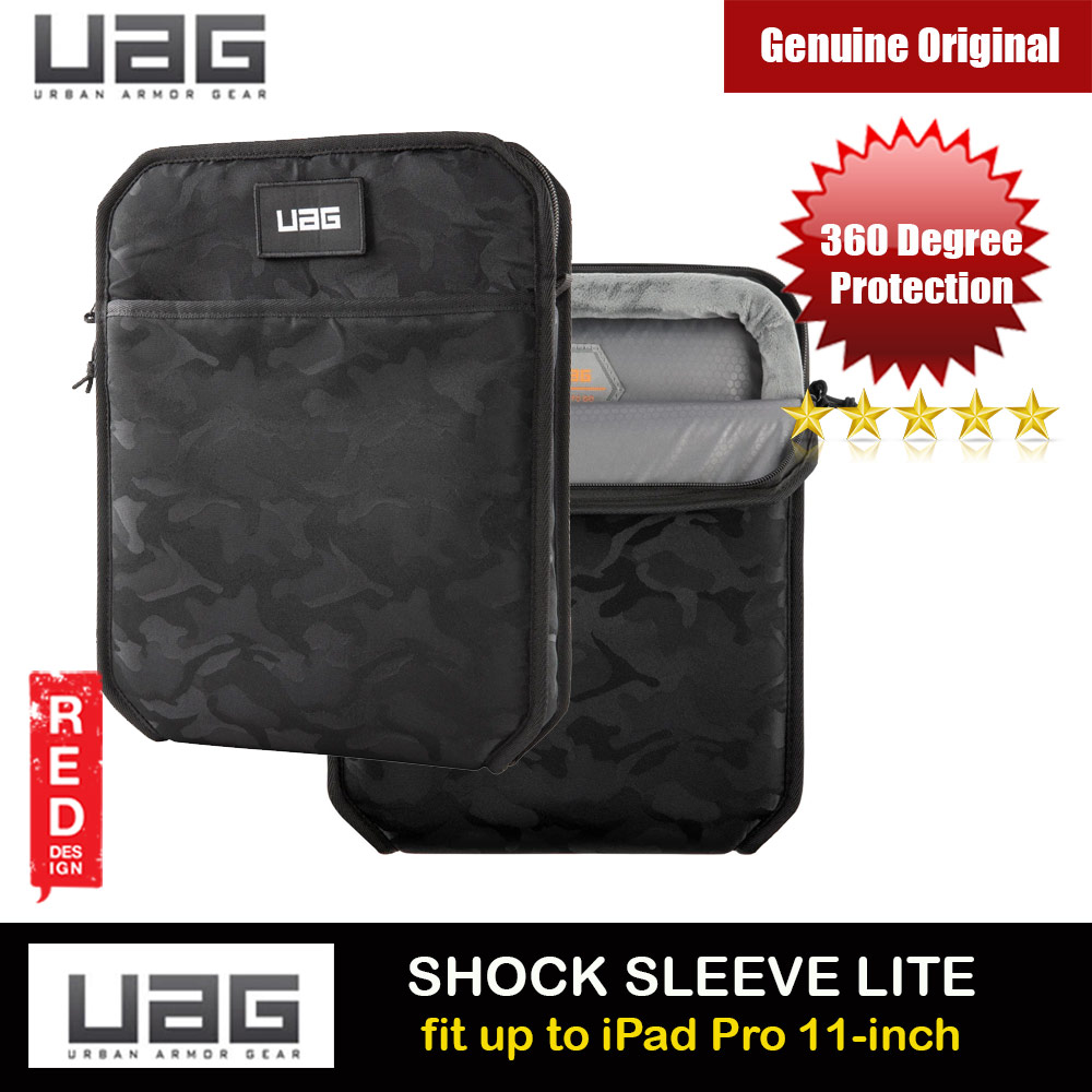 Picture of UAG SHOCK SLEEVE LITE Tough 360 Degree Protection Slim and Lightweight Sleeve for iPad Pro 11 A2228 A2068 A2230 A2228 A2068 A2230 A2231 (Black Midnight Camo) Apple iPad Pro 11 2nd gen 2020- Apple iPad Pro 11 2nd gen 2020 Cases, Apple iPad Pro 11 2nd gen 2020 Covers, iPad Cases and a wide selection of Apple iPad Pro 11 2nd gen 2020 Accessories in Malaysia, Sabah, Sarawak and Singapore