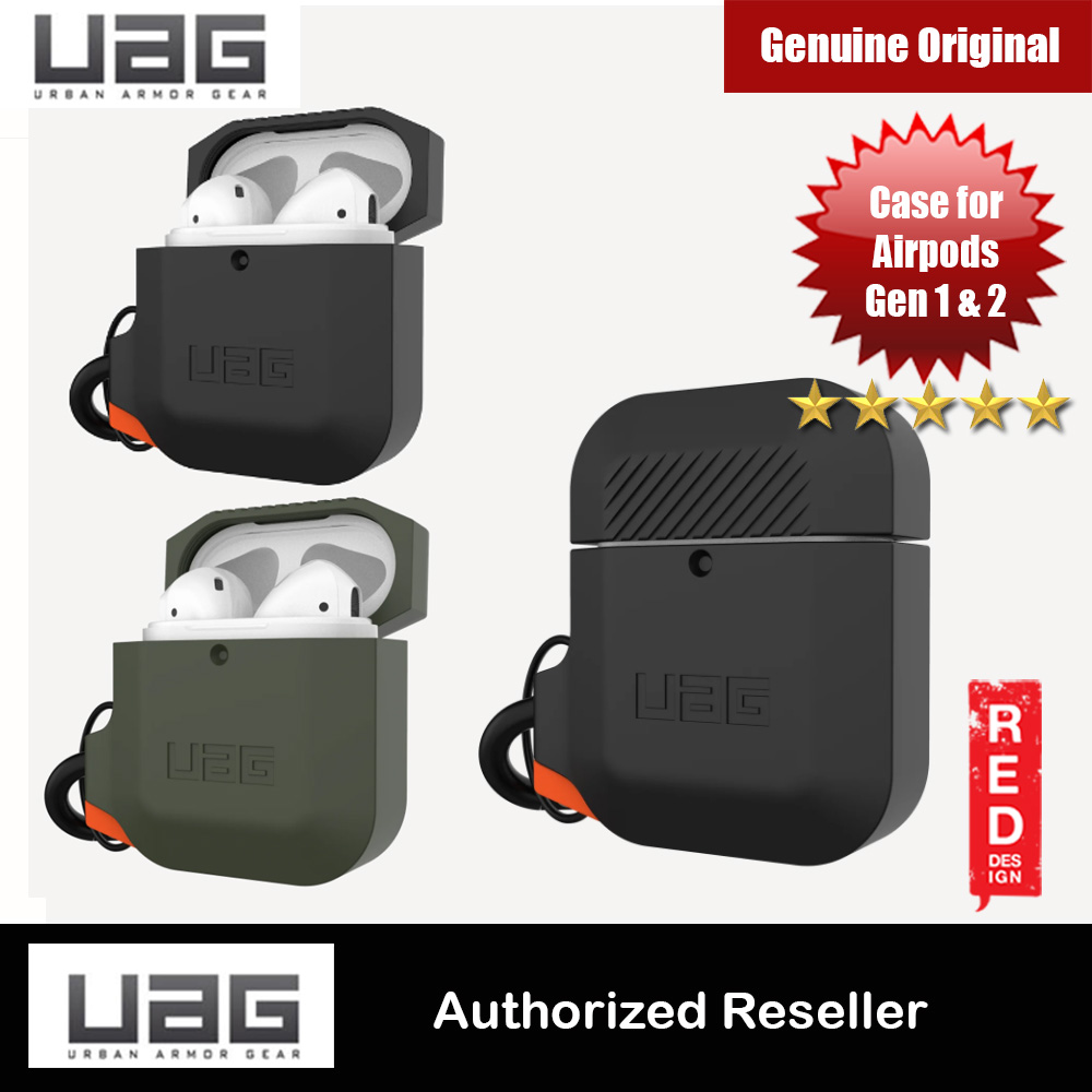 Picture of UAG Drop Protection Hard Case with Carabiner for Airpods Gen 1 Gen 2 (Black) Apple Airpods 1- Apple Airpods 1 Cases, Apple Airpods 1 Covers, iPad Cases and a wide selection of Apple Airpods 1 Accessories in Malaysia, Sabah, Sarawak and Singapore