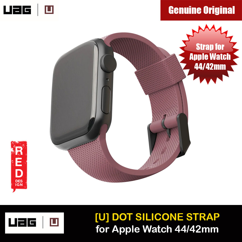 Picture of UAG [U] Dot Silicone Strap for Apple Watch 44mm Series 4 Series 5 Series 6 Series SE (Dusty Rose) Apple Watch 42mm- Apple Watch 42mm Cases, Apple Watch 42mm Covers, iPad Cases and a wide selection of Apple Watch 42mm Accessories in Malaysia, Sabah, Sarawak and Singapore