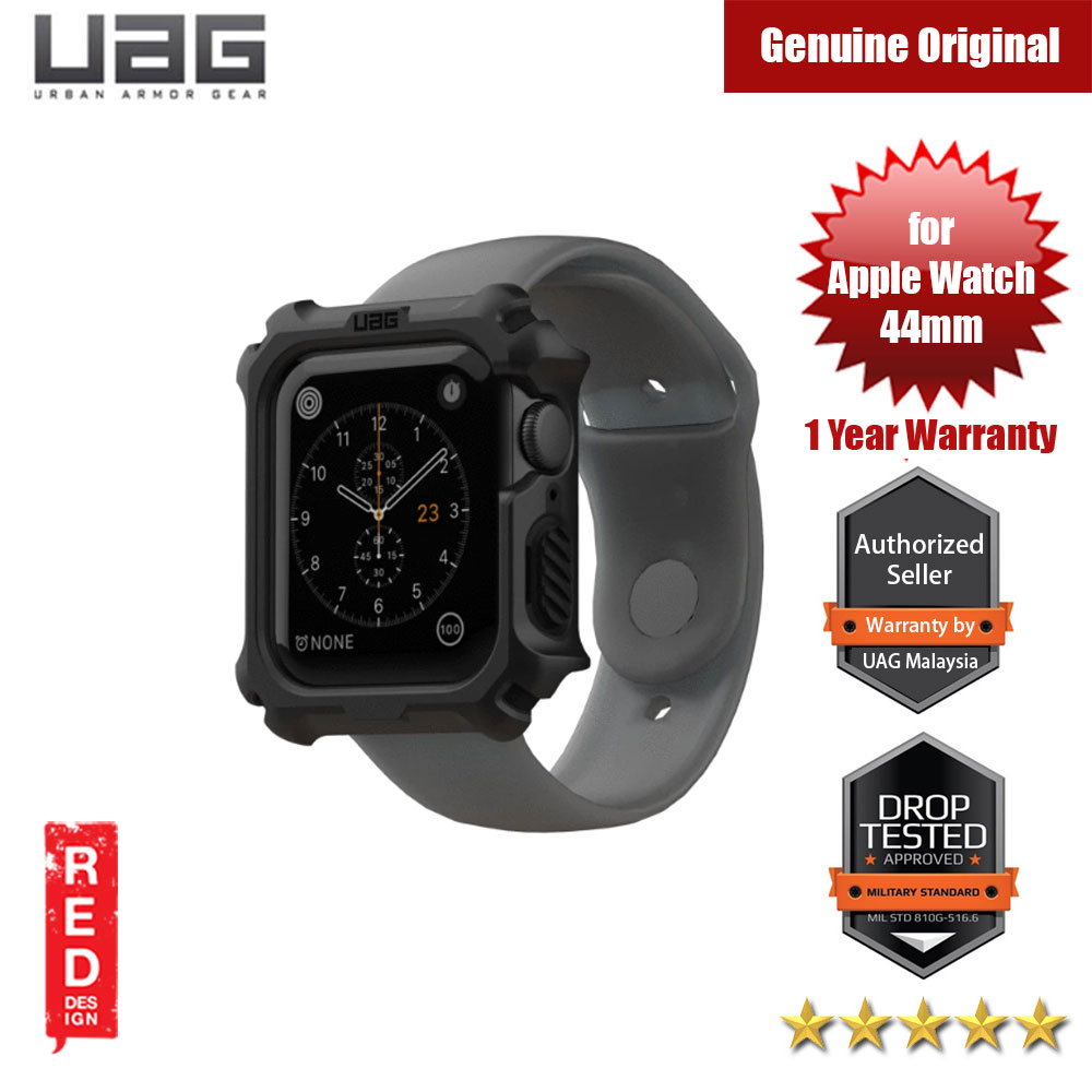Picture of UAG Rugged Case Series Drop Protection Case for Apple Watch 44mm Series 4 Series 5 (Black) Apple Watch 44mm- Apple Watch 44mm Cases, Apple Watch 44mm Covers, iPad Cases and a wide selection of Apple Watch 44mm Accessories in Malaysia, Sabah, Sarawak and Singapore