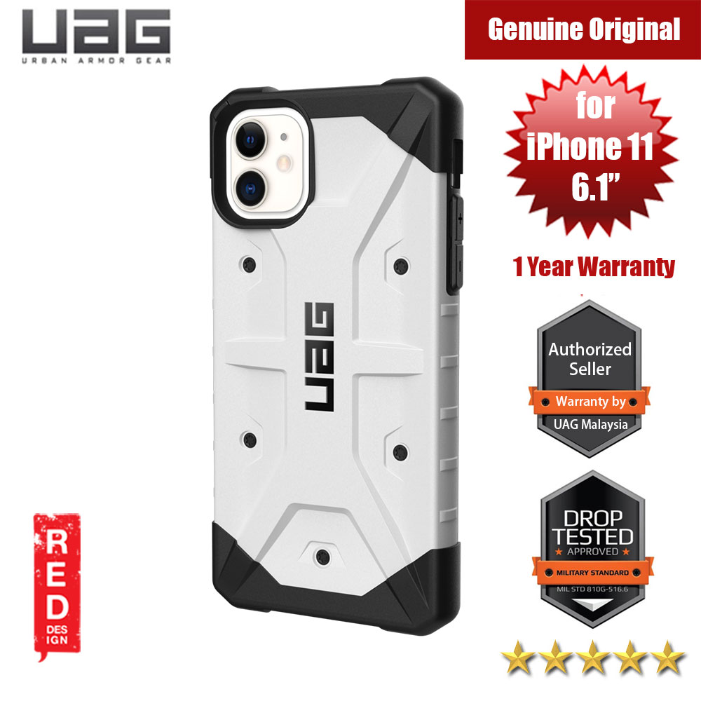 Picture of UAG Pathfinder Drop Protection Case for Apple iPhone 11 6.1 (White) Apple iPhone 11 6.1- Apple iPhone 11 6.1 Cases, Apple iPhone 11 6.1 Covers, iPad Cases and a wide selection of Apple iPhone 11 6.1 Accessories in Malaysia, Sabah, Sarawak and Singapore