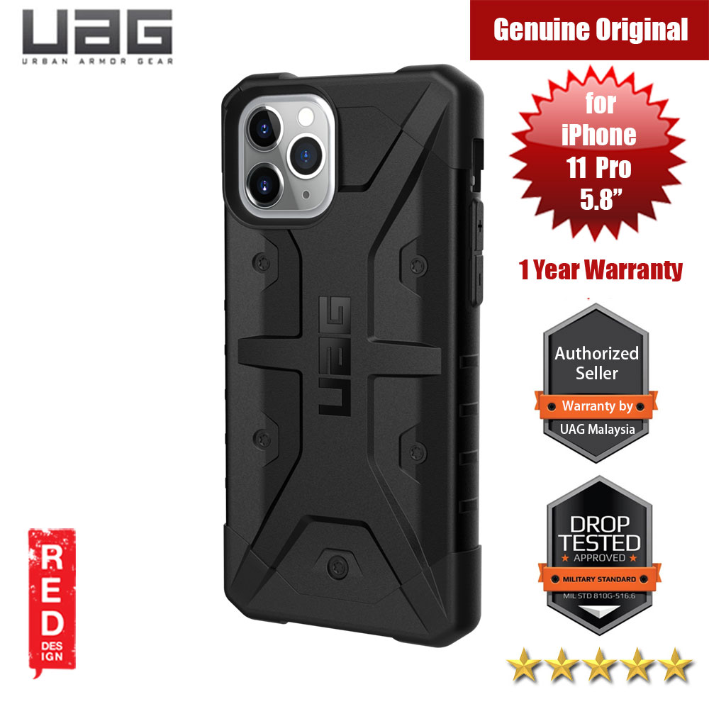 Picture of UAG Pathfinder Drop Protection Case for Apple iPhone 11 Pro 5.8 (Black) Apple iPhone 11 Pro 5.8- Apple iPhone 11 Pro 5.8 Cases, Apple iPhone 11 Pro 5.8 Covers, iPad Cases and a wide selection of Apple iPhone 11 Pro 5.8 Accessories in Malaysia, Sabah, Sarawak and Singapore