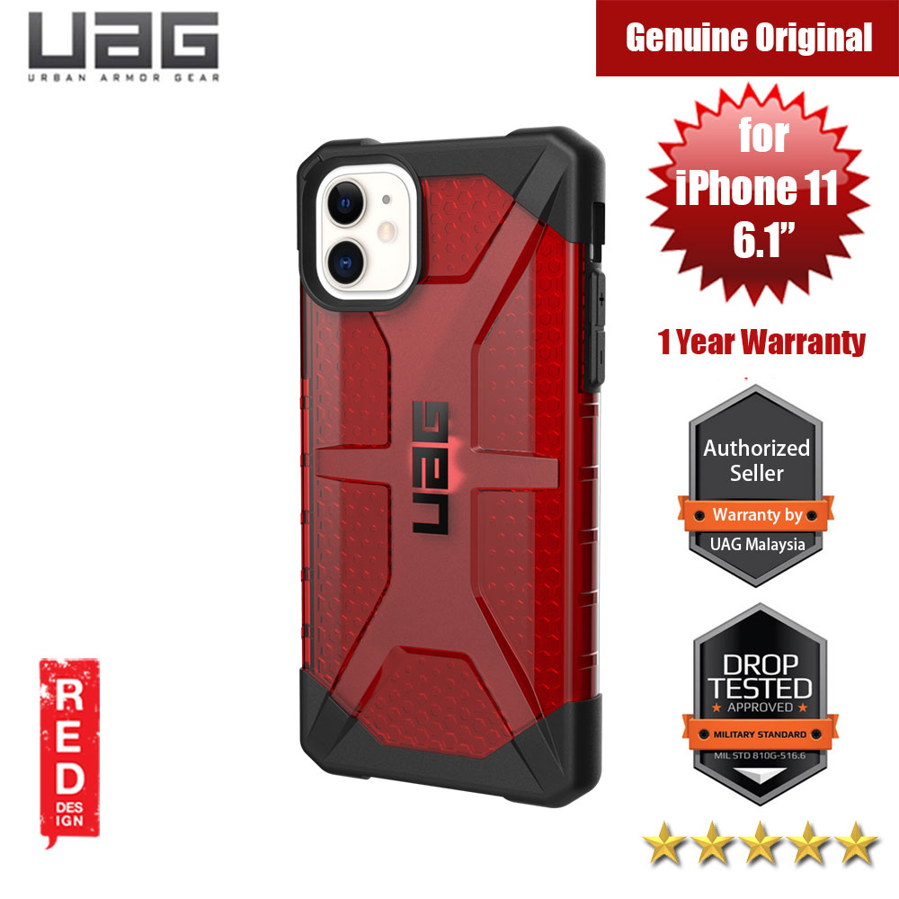 Picture of UAG Plasma Series Drop Protection Case for Apple iPhone 11 6.1 (Magma Red) Apple iPhone 11 6.1- Apple iPhone 11 6.1 Cases, Apple iPhone 11 6.1 Covers, iPad Cases and a wide selection of Apple iPhone 11 6.1 Accessories in Malaysia, Sabah, Sarawak and Singapore