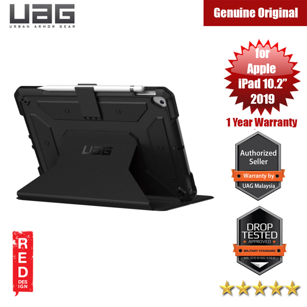 Picture of UAG Metropolis Series Rugged and Lightweight Protection Case for Apple iPad Air 10.2 2019 (Black) Apple iPad 10.2 2019- Apple iPad 10.2 2019 Cases, Apple iPad 10.2 2019 Covers, iPad Cases and a wide selection of Apple iPad 10.2 2019 Accessories in Malaysia, Sabah, Sarawak and Singapore