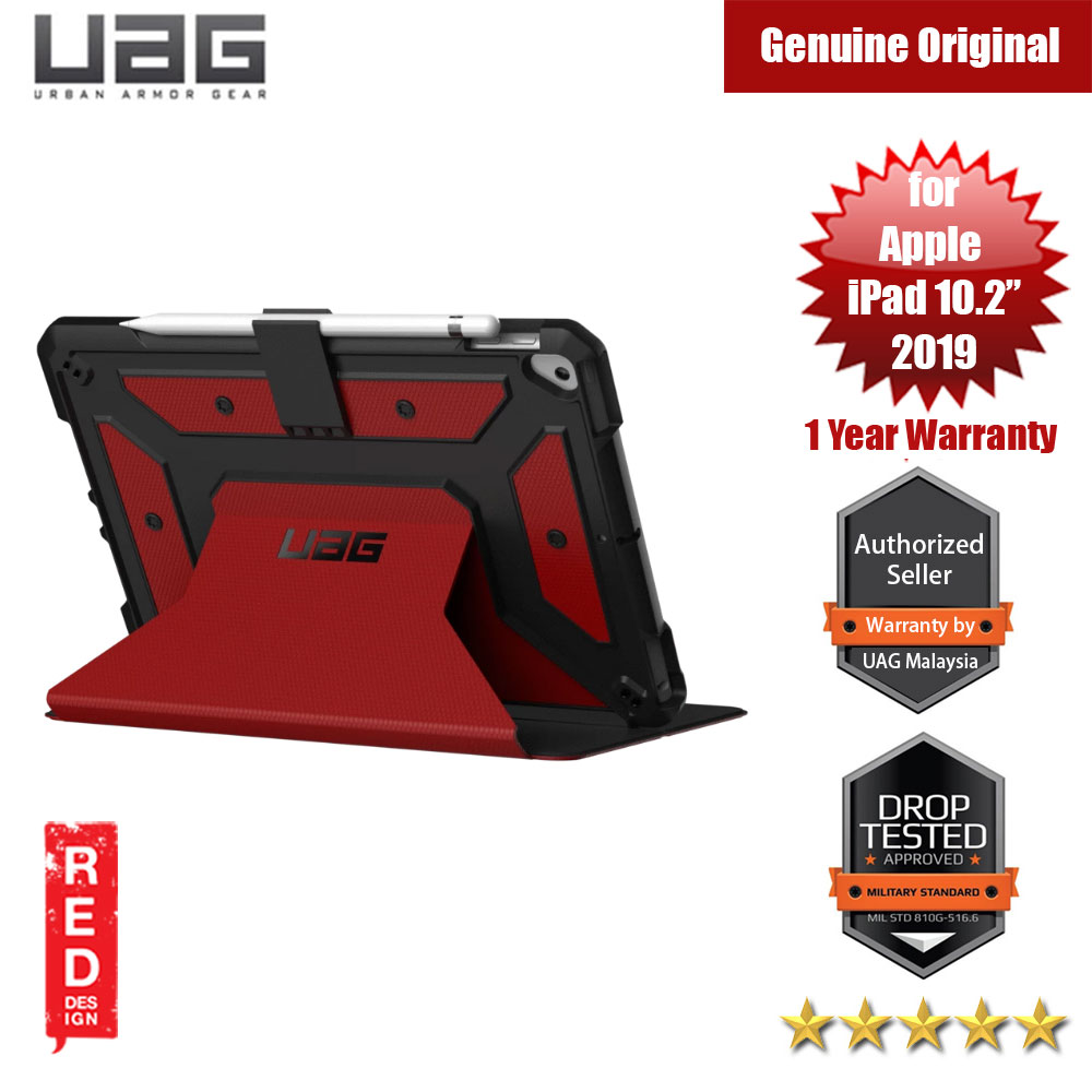 Picture of UAG Metropolis Series Rugged and Lightweight Protection Case for Apple iPad Air 10.2 2019 (Magma Red) Apple iPad 10.2 2019- Apple iPad 10.2 2019 Cases, Apple iPad 10.2 2019 Covers, iPad Cases and a wide selection of Apple iPad 10.2 2019 Accessories in Malaysia, Sabah, Sarawak and Singapore