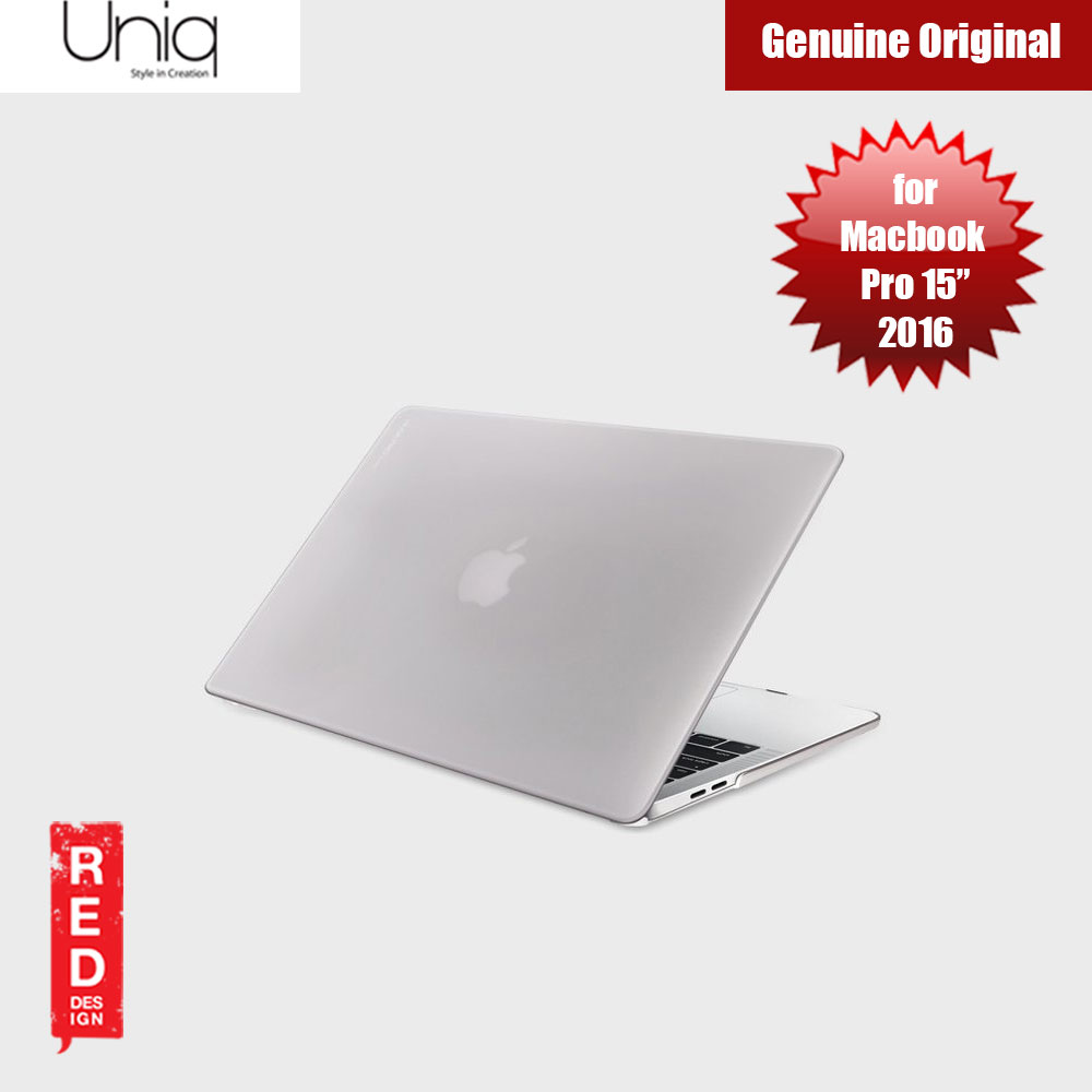 "Picture of Uniq Husk Pro Frosted Series Case for Apple Macbook Pro 15"" 2016 (Frosted Tint Clear) Apple MacBook Pro 15\"" 2016- Apple MacBook Pro 15\"" 2016 Cases, Apple MacBook Pro 15\"" 2016 Covers, iPad Cases and a wide selection of Apple MacBook Pro 15\"" 2016 Accessories in Malaysia, Sabah, Sarawak and Singapore"