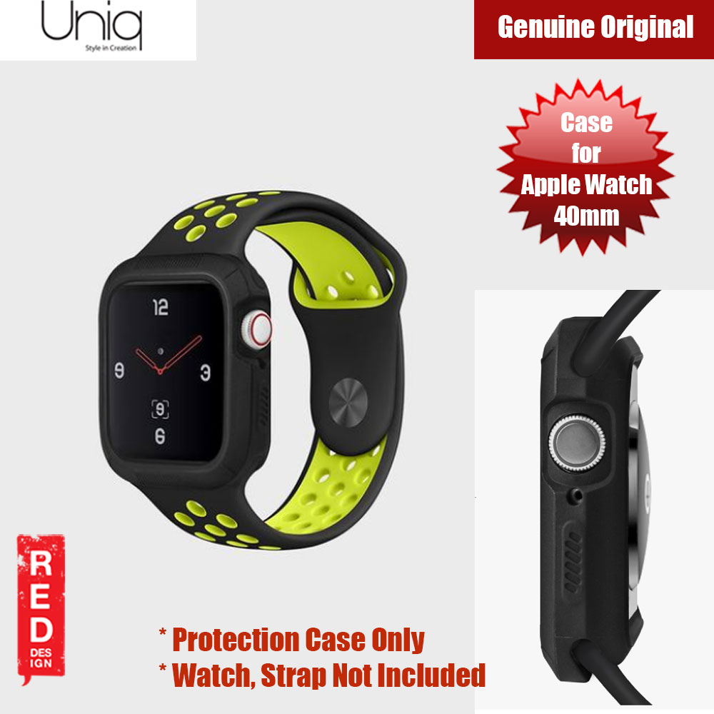 Picture of Uniq Proteger Series Case for Apple Watch 40mm (Black) Apple Watch 40mm- Apple Watch 40mm Cases, Apple Watch 40mm Covers, iPad Cases and a wide selection of Apple Watch 40mm Accessories in Malaysia, Sabah, Sarawak and Singapore