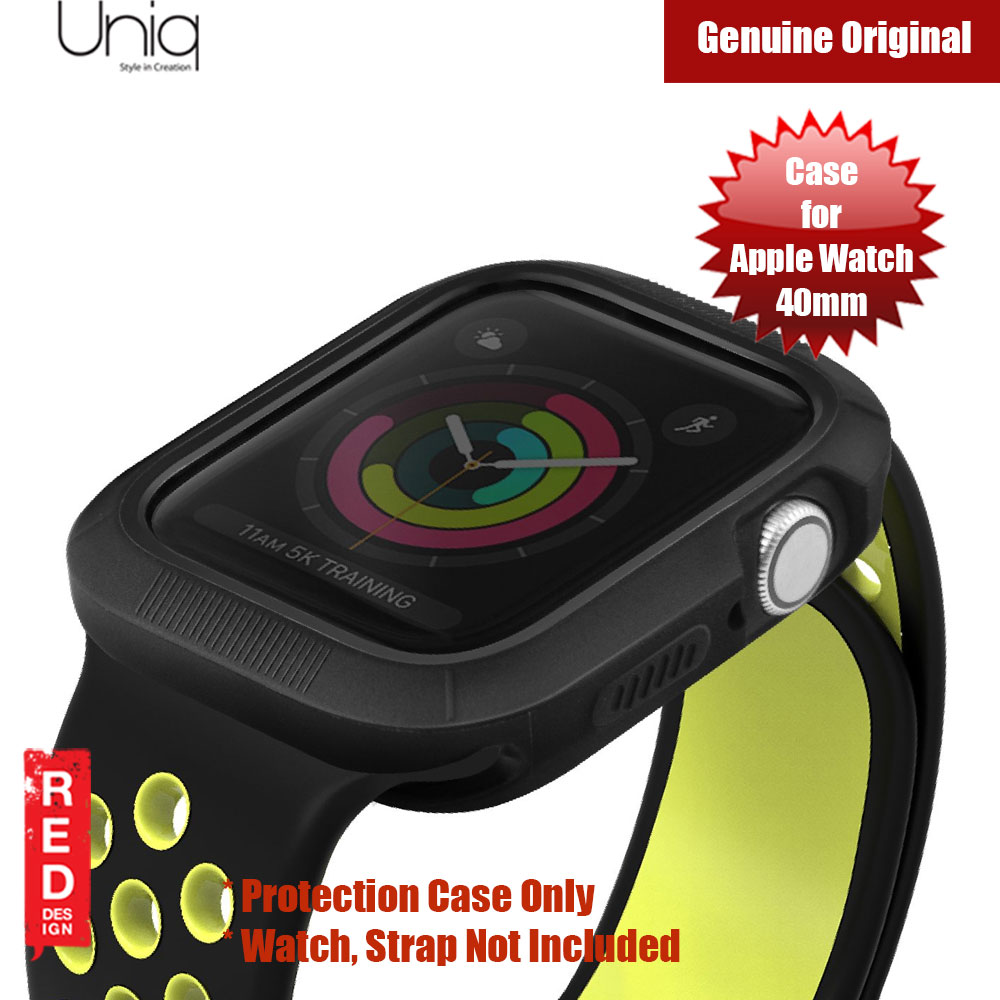 Picture of Apple Watch 40mm Case | Uniq Proteger Series Case for Apple Watch 40mm (Black)