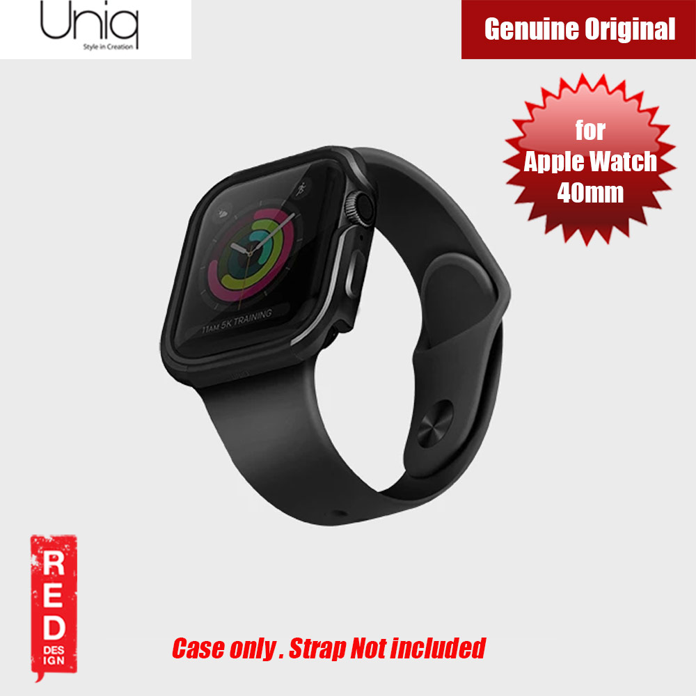 Picture of Uniq Valencia Series Reinforced Aluminium Defense Case for Apple Watch Series 4 40mm (Black) Apple Watch 40mm- Apple Watch 40mm Cases, Apple Watch 40mm Covers, iPad Cases and a wide selection of Apple Watch 40mm Accessories in Malaysia, Sabah, Sarawak and Singapore