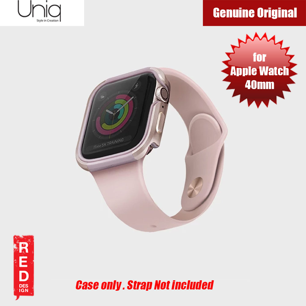 Picture of Uniq Valencia Series Reinforced Aluminium Defense Case for Apple Watch Series 4 40mm (Pink) Apple Watch 40mm- Apple Watch 40mm Cases, Apple Watch 40mm Covers, iPad Cases and a wide selection of Apple Watch 40mm Accessories in Malaysia, Sabah, Sarawak and Singapore