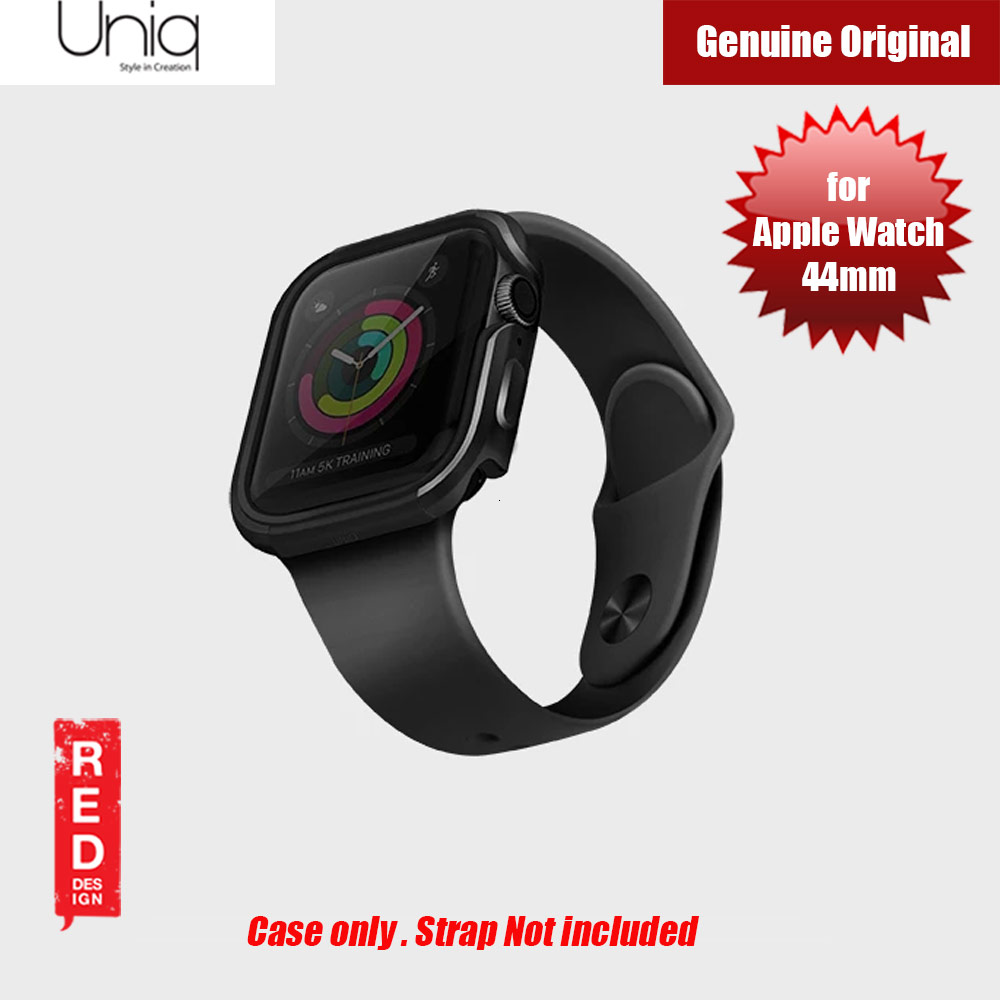 Picture of Uniq Valencia Series Reinforced Aluminium Defense Case for Apple Watch Series 4 5 6 SE Nike 44mm (Black) Apple Watch 44mm- Apple Watch 44mm Cases, Apple Watch 44mm Covers, iPad Cases and a wide selection of Apple Watch 44mm Accessories in Malaysia, Sabah, Sarawak and Singapore