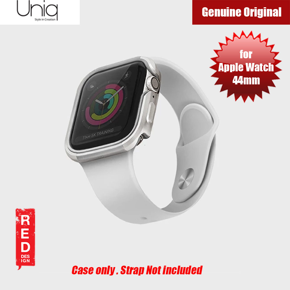 Picture of Uniq Valencia Series Reinforced Aluminium Defense Case for Apple Watch Series 4 5 6 SE Nike 44mm (Silver) Apple Watch 44mm- Apple Watch 44mm Cases, Apple Watch 44mm Covers, iPad Cases and a wide selection of Apple Watch 44mm Accessories in Malaysia, Sabah, Sarawak and Singapore