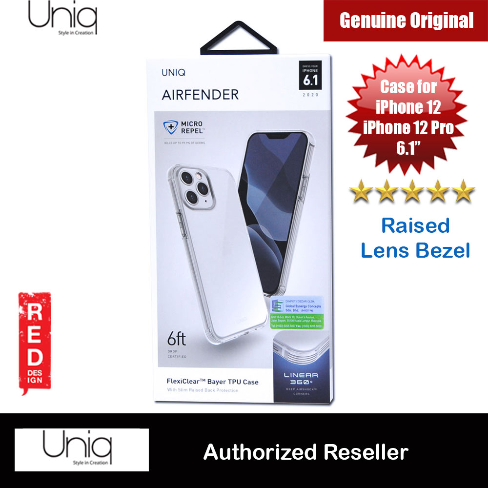 Picture of Uniq Fender Slim Ultra Light Flex Soft Drop Protection Case for iPhone 12 iPhone 12 Pro 6.1 (Clear) Apple iPhone 12 6.1- Apple iPhone 12 6.1 Cases, Apple iPhone 12 6.1 Covers, iPad Cases and a wide selection of Apple iPhone 12 6.1 Accessories in Malaysia, Sabah, Sarawak and Singapore