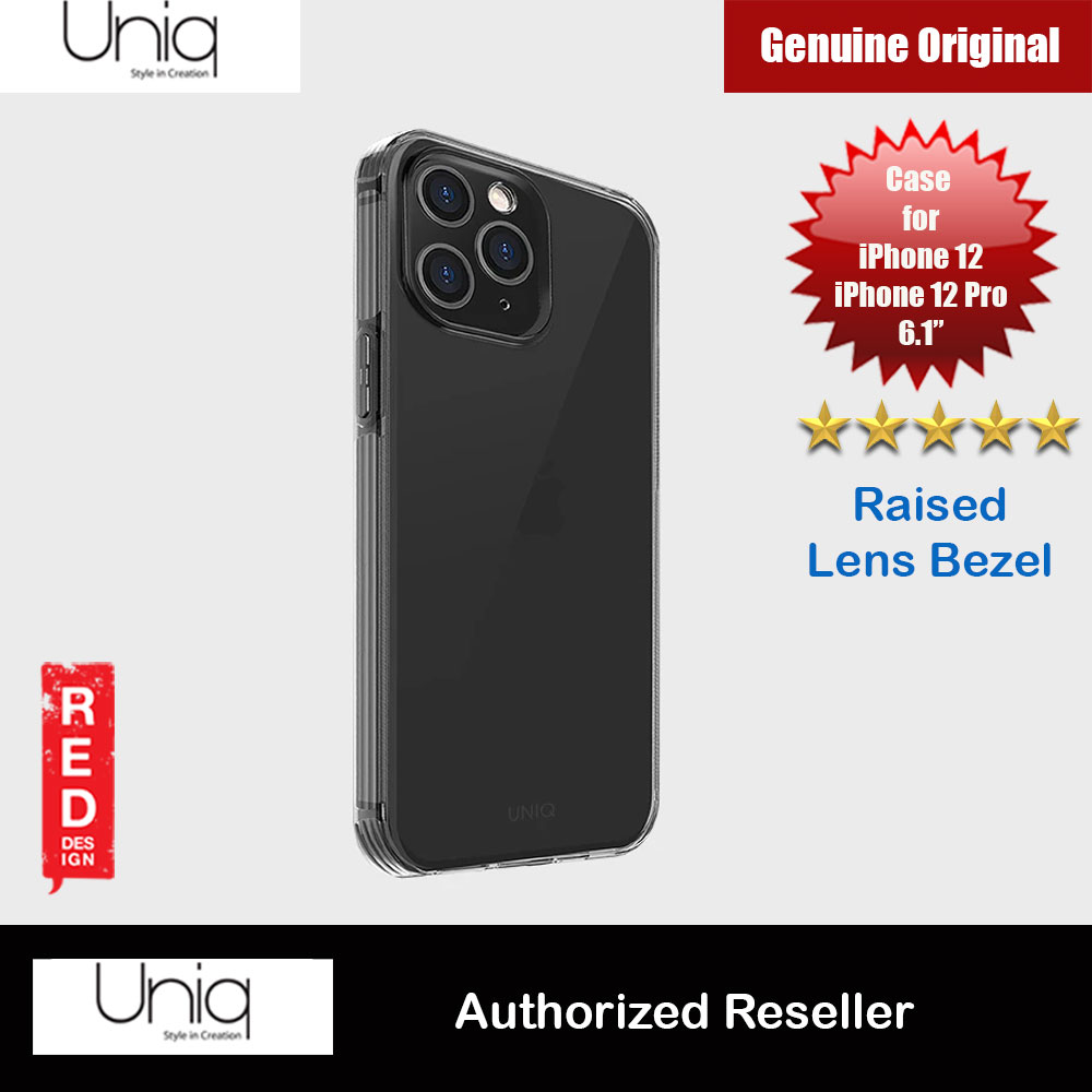 Picture of Uniq Air Fender Slim Ultra Light Flex Soft Drop Protection Case for iPhone 12 iPhone 12 Pro 6.1 (Smoke Grey) Apple iPhone 12 6.1- Apple iPhone 12 6.1 Cases, Apple iPhone 12 6.1 Covers, iPad Cases and a wide selection of Apple iPhone 12 6.1 Accessories in Malaysia, Sabah, Sarawak and Singapore