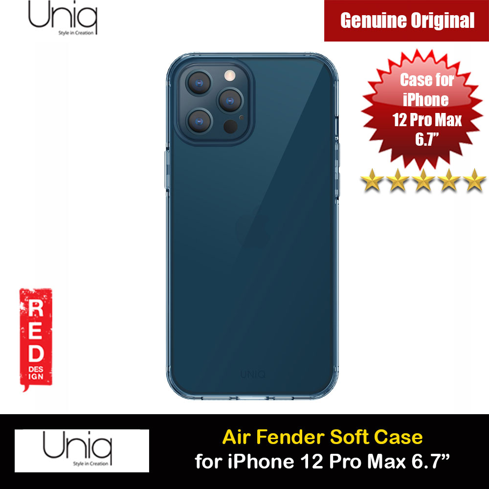 Picture of Uniq Air Fender Slim Ultra Light Flex Soft Drop Protection Case for iPhone 12 Pro Max 6.7 (Blue) Apple iPhone 11 Pro Max 6.5- Apple iPhone 11 Pro Max 6.5 Cases, Apple iPhone 11 Pro Max 6.5 Covers, iPad Cases and a wide selection of Apple iPhone 11 Pro Max 6.5 Accessories in Malaysia, Sabah, Sarawak and Singapore