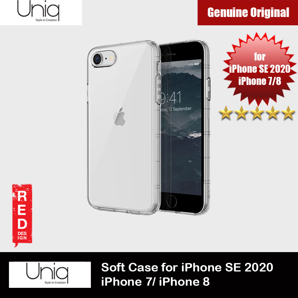 Picture of Uniq Air Fender Light Weight Series Drop Protection Case for Apple iPhone SE 2020 iPhone 8 iPhone 7 (Clear) Apple iPhone 7 4.7- Apple iPhone 7 4.7 Cases, Apple iPhone 7 4.7 Covers, iPad Cases and a wide selection of Apple iPhone 7 4.7 Accessories in Malaysia, Sabah, Sarawak and Singapore