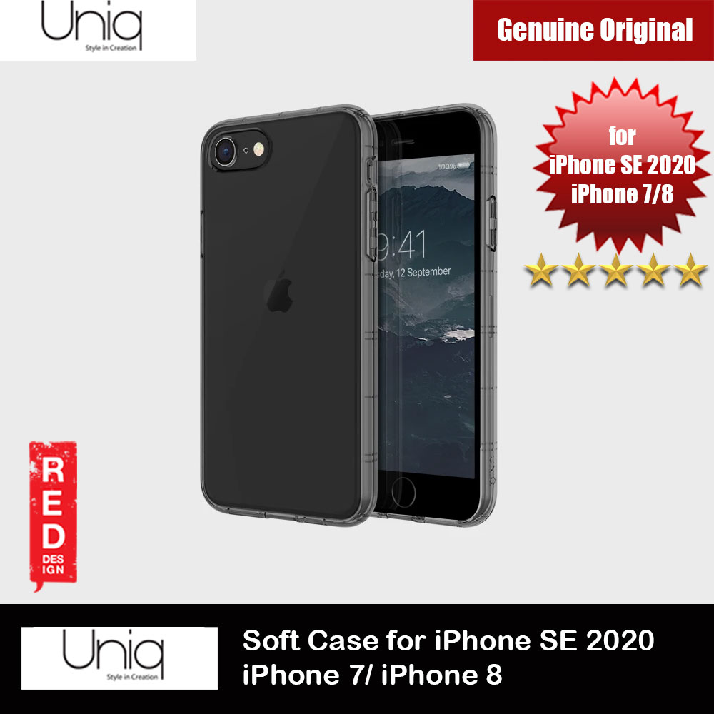 Picture of Uniq Air Fender Light Weight Series Drop Protection Case for Apple iPhone SE 2020 iPhone 8 iPhone 7 (Tint Black) Apple iPhone SE 2020- Apple iPhone SE 2020 Cases, Apple iPhone SE 2020 Covers, iPad Cases and a wide selection of Apple iPhone SE 2020 Accessories in Malaysia, Sabah, Sarawak and Singapore