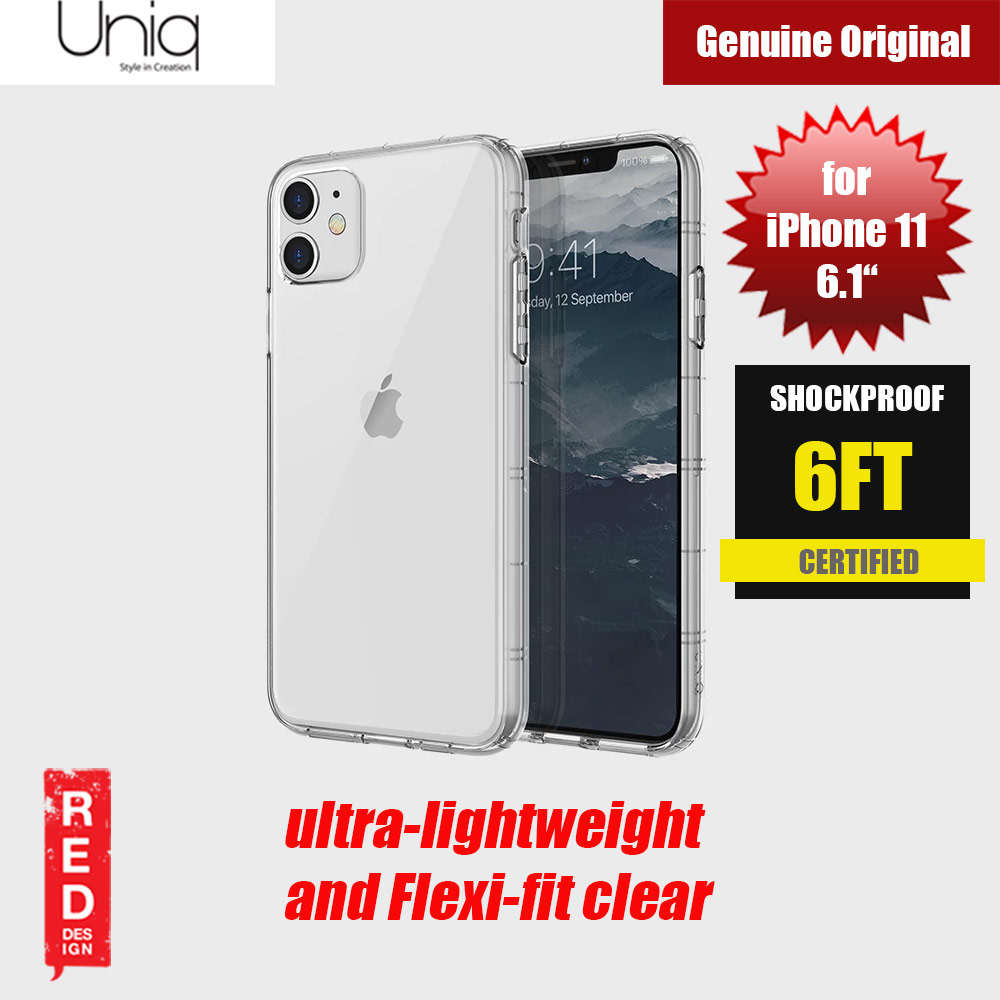 Picture of Uniq Air Fender Light Weight Series Drop Protection Case for Apple iPhone 11 6.1  (Clear) Apple iPhone 11 6.1- Apple iPhone 11 6.1 Cases, Apple iPhone 11 6.1 Covers, iPad Cases and a wide selection of Apple iPhone 11 6.1 Accessories in Malaysia, Sabah, Sarawak and Singapore