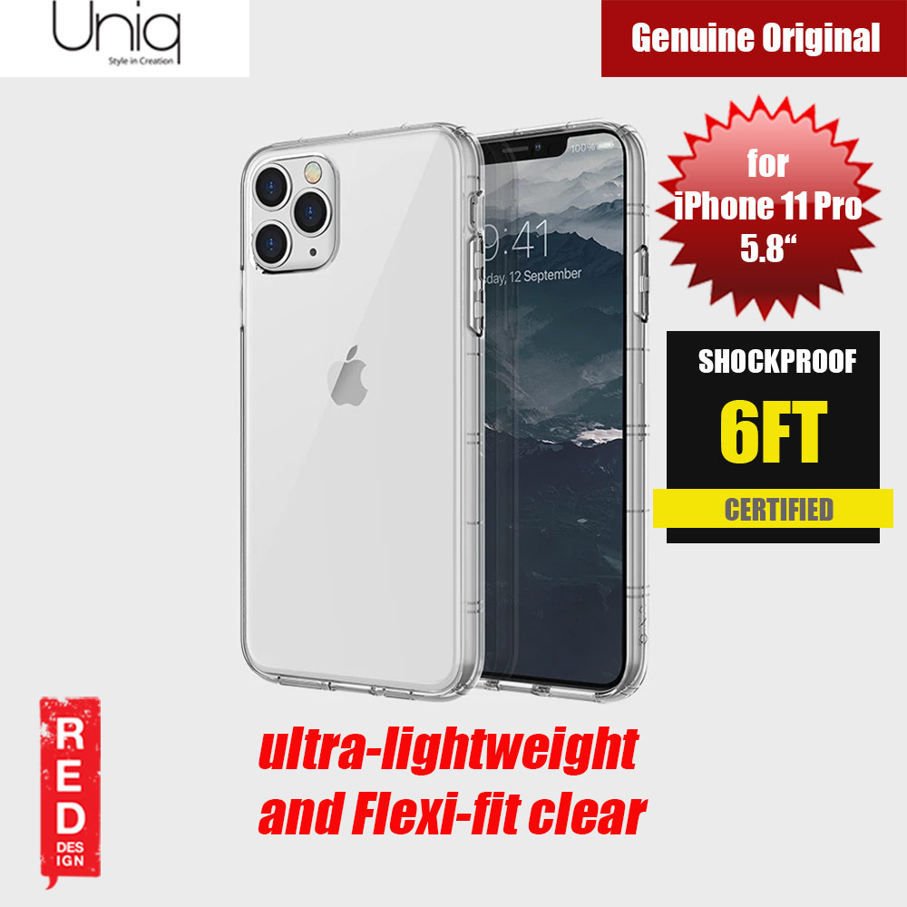 Picture of Uniq Air Fender Light Weight Series Drop Protection Case for Apple iPhone 11 Pro 5.8 (Clear) Apple iPhone 11 Pro 5.8- Apple iPhone 11 Pro 5.8 Cases, Apple iPhone 11 Pro 5.8 Covers, iPad Cases and a wide selection of Apple iPhone 11 Pro 5.8 Accessories in Malaysia, Sabah, Sarawak and Singapore