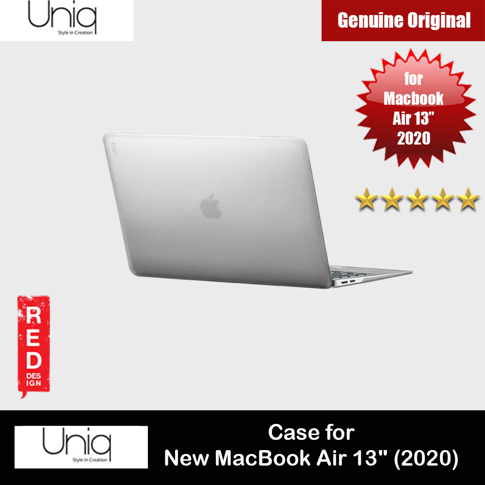 "Picture of Uniq HUSK PRO Claro Frosted Series Protection Case for Apple Macbook Air 13"" 2020 (Frosted Tint Clear) Apple MacBook Air 13\"" 2020- Apple MacBook Air 13\"" 2020 Cases, Apple MacBook Air 13\"" 2020 Covers, iPad Cases and a wide selection of Apple MacBook Air 13\"" 2020 Accessories in Malaysia, Sabah, Sarawak and Singapore"