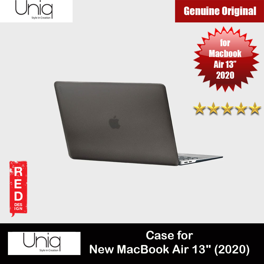 "Picture of Uniq HUSK PRO Claro Frosted Series Protection Case for Apple Macbook Air 13"" 2020 (Frosted Tint Grey) Apple MacBook Air 13\"" 2020- Apple MacBook Air 13\"" 2020 Cases, Apple MacBook Air 13\"" 2020 Covers, iPad Cases and a wide selection of Apple MacBook Air 13\"" 2020 Accessories in Malaysia, Sabah, Sarawak and Singapore"
