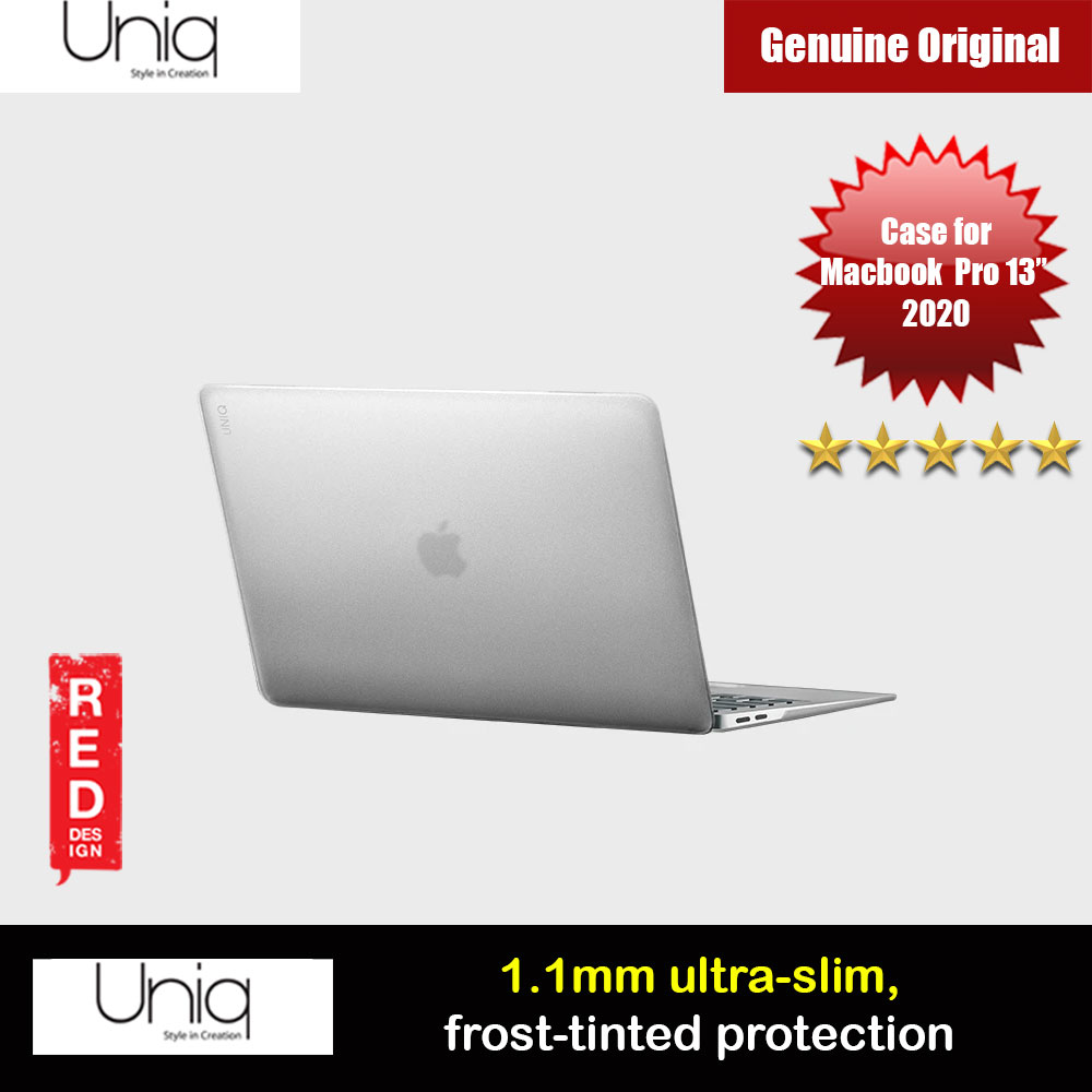 "Picture of Uniq HUSK PRO Claro Frosted Series Protection Case for Apple Macbook Pro 13"" 2020 (Frosted Tint Clear) Apple MacBook Pro 13\"" 2020- Apple MacBook Pro 13\"" 2020 Cases, Apple MacBook Pro 13\"" 2020 Covers, iPad Cases and a wide selection of Apple MacBook Pro 13\"" 2020 Accessories in Malaysia, Sabah, Sarawak and Singapore"