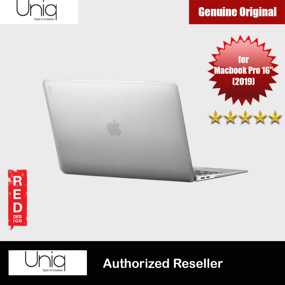 "Picture of Uniq HUSK PRO Claro Frosted Series Protection Case for Apple Macbook Pro 16"" 2019 (Frosted Tint Clear) Apple MacBook Pro 16\"" 2019- Apple MacBook Pro 16\"" 2019 Cases, Apple MacBook Pro 16\"" 2019 Covers, iPad Cases and a wide selection of Apple MacBook Pro 16\"" 2019 Accessories in Malaysia, Sabah, Sarawak and Singapore"
