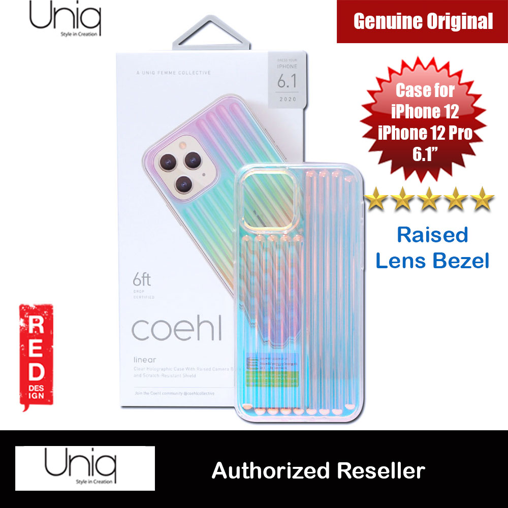 Picture of Uniq Coehl Holography Soft Drop Protection Case for iPhone 12 iPhone 12 Pro 6.1 (Linear Iridescent) Apple iPhone 12 6.1- Apple iPhone 12 6.1 Cases, Apple iPhone 12 6.1 Covers, iPad Cases and a wide selection of Apple iPhone 12 6.1 Accessories in Malaysia, Sabah, Sarawak and Singapore