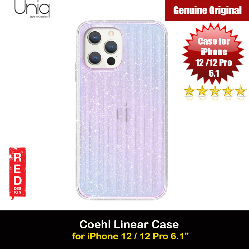 Picture of Uniq Coehl Holography Soft Drop Protection Case for iPhone 12 iPhone 12 Pro 6.1 (Linear Stardust) Apple iPhone 12 6.1- Apple iPhone 12 6.1 Cases, Apple iPhone 12 6.1 Covers, iPad Cases and a wide selection of Apple iPhone 12 6.1 Accessories in Malaysia, Sabah, Sarawak and Singapore