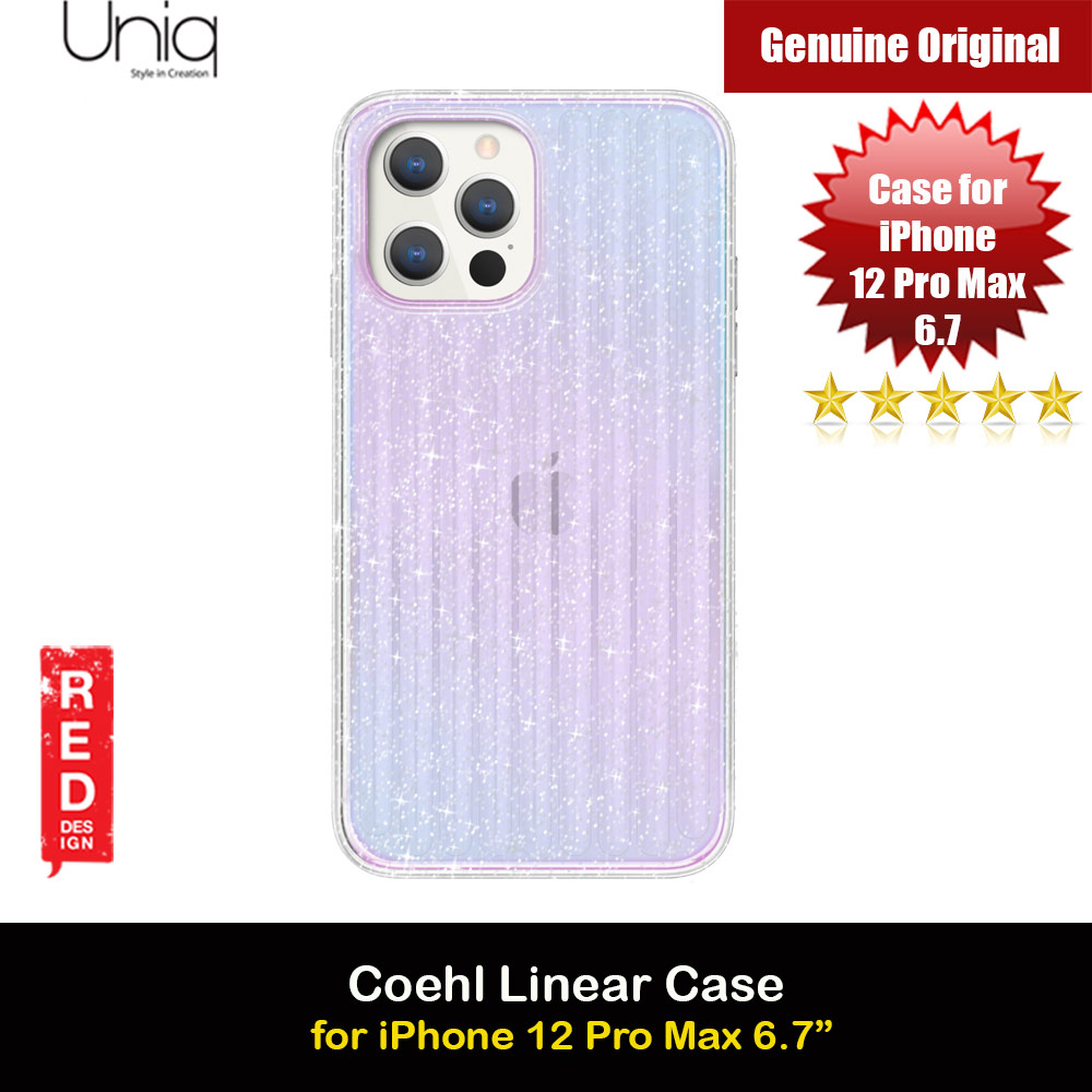 Picture of Uniq Coehl Holography Soft Drop Protection Case for iPhone 12 Pro Max 6.7 (Linear Stardust) Apple iPhone 12 Pro Max 6.7- Apple iPhone 12 Pro Max 6.7 Cases, Apple iPhone 12 Pro Max 6.7 Covers, iPad Cases and a wide selection of Apple iPhone 12 Pro Max 6.7 Accessories in Malaysia, Sabah, Sarawak and Singapore