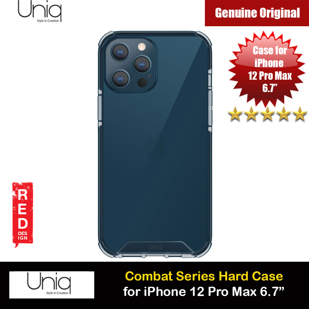 Picture of Uniq Combat Ultra Tough Drop Protection Case for iPhone 12 Pro Max 6.7 (Blue) Apple iPhone 12 Pro Max 6.7- Apple iPhone 12 Pro Max 6.7 Cases, Apple iPhone 12 Pro Max 6.7 Covers, iPad Cases and a wide selection of Apple iPhone 12 Pro Max 6.7 Accessories in Malaysia, Sabah, Sarawak and Singapore