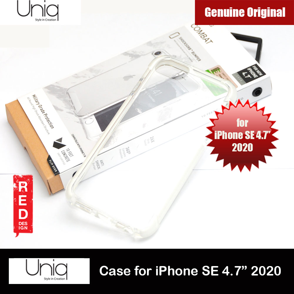 Picture of Uniq Combat Extreme Reinforced Corner Defense Protection Hybrid Case for Apple iPhone SE 4.7 2020 (White) Apple iPhone SE 2020- Apple iPhone SE 2020 Cases, Apple iPhone SE 2020 Covers, iPad Cases and a wide selection of Apple iPhone SE 2020 Accessories in Malaysia, Sabah, Sarawak and Singapore