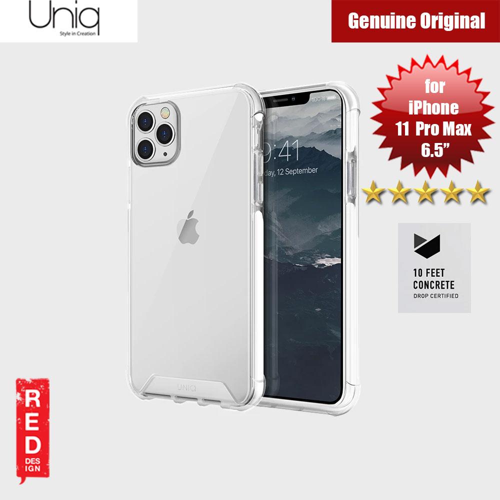 Uniq Combat Extreme Reinforced Corner Defense Protection Hybrid Case for  Apple iPhone 11 Pro Max 6.5 (White)