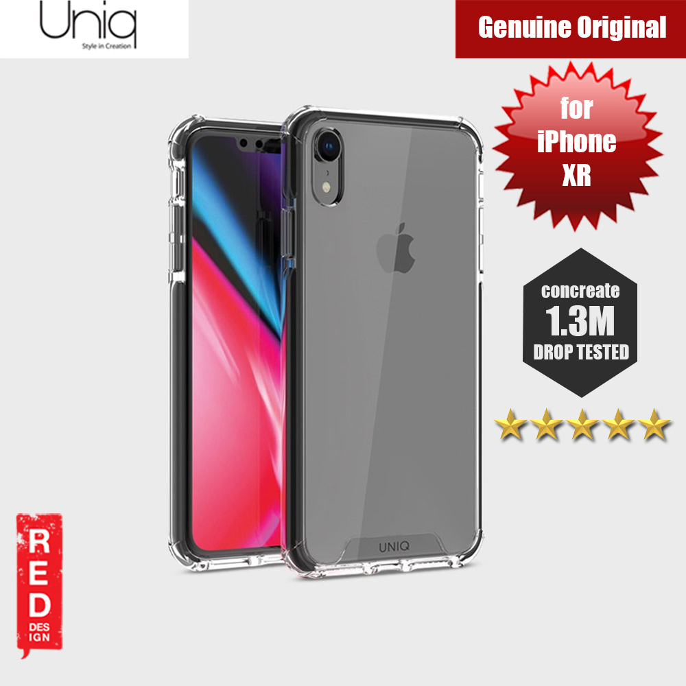 Picture of Uniq Combat Protection Case for Apple iPhone XR (Black) Apple iPhone XR- Apple iPhone XR Cases, Apple iPhone XR Covers, iPad Cases and a wide selection of Apple iPhone XR Accessories in Malaysia, Sabah, Sarawak and Singapore