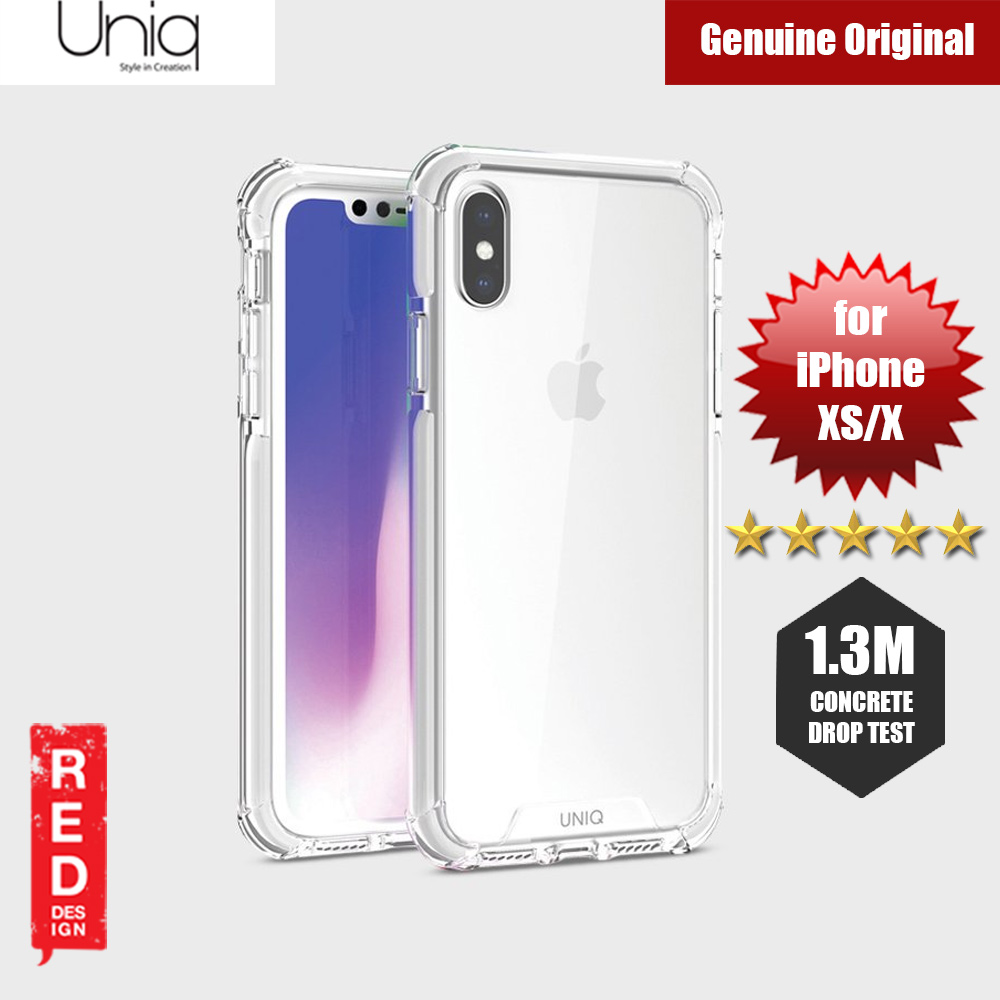Picture of Uniq Combat Protection Case for Apple iPhone XS iPhone X (White) Apple iPhone X- Apple iPhone X Cases, Apple iPhone X Covers, iPad Cases and a wide selection of Apple iPhone X Accessories in Malaysia, Sabah, Sarawak and Singapore
