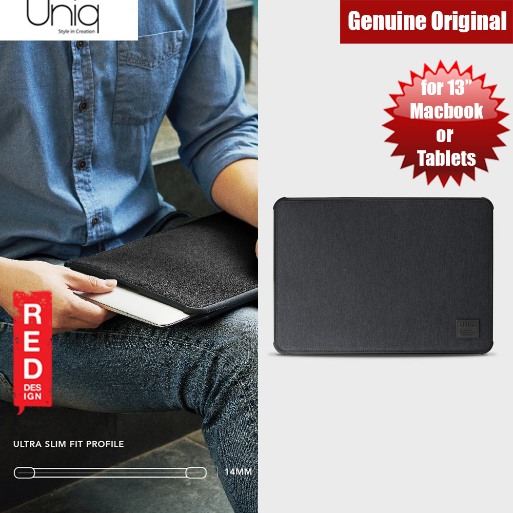 Picture of Uniq Dfender Bumper Case for Apple Macbook or Tablets  up to 13 inches (Black) Apple iPad 9.7 2017- Apple iPad 9.7 2017 Cases, Apple iPad 9.7 2017 Covers, iPad Cases and a wide selection of Apple iPad 9.7 2017 Accessories in Malaysia, Sabah, Sarawak and Singapore